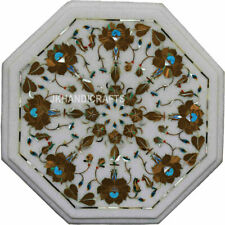 "12""x12"" Home Decor Marble Inlaid Marquetry Pietra Dura Home Decor"