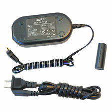 HQRP AC Adapter + DC Coupler for Canon PowerShot IXY 1, IXY 3, IXY 50S, IXY 51S