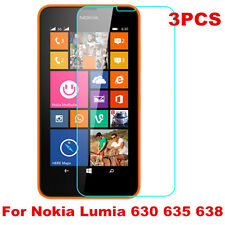 For Nokia Lumia 630 635 638 3PC HD Ultra Clear Screen Protector Cover Guard Film