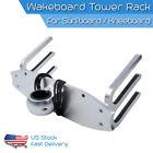 TC CNC Wakeboard Tower Rack Surfboard Boat Water Ski Kneeboard Holder Aluminum
