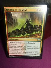MTG Magic Card Uncommon Rhythm of the Wild #201 Ravnica Allegiance Mint 💎✔🔎