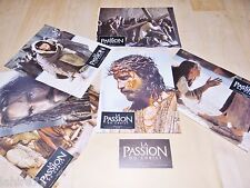 LA PASSION DU CHRIST  !  mel gibson jeu photos cinema lobby cards