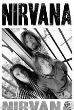"""Nirvana """"Group Standing At Gates"""" Poster From Asia - Grunge Rock Music (#55034)"""