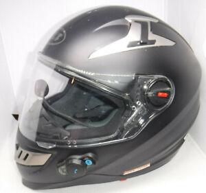 BILT MOTORCYCLE FULL FACE HELMET BLACK SIZE LARGE L@@K