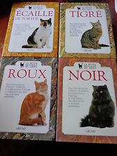 Lot 4 volumes the small library of cat tiger tortoise tortoise black red