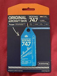 aviationtag KLM 747 Reg: PH-BFF
