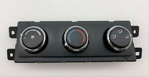 OEM 08-14 Dodge Grand Caravan Rear Temperature Climate Control Unit Module Panel