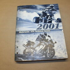 Yamaha 2001 Motorcycle/ Atv Technical Update Factory Service Manual Oem