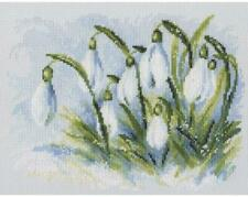 RTO Counted Cross Stitch Kit  -  Early Snowdrops