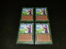 MTG 1x Revised green rare MP German FBB Fastbond - ships w/ tracking