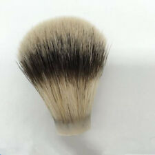 new 1 Pc Silver Tip Finest Badger Hair Men Shaving Brush Head Knot Beard Head