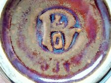 Hugo reinhold & Co, Bunzlau-vase, laufglasur-H 21 CM, AUSFG. 1910 FF.