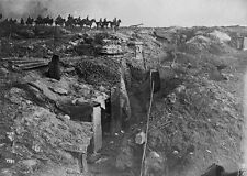 British trench captured by German Troops Western Front - 8x10 World War I Photo