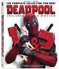 Deadpool: The Complete Collection 1 & 2 For Now (Blu-ray) New