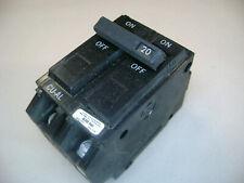 General Electric GE TQL-AC 2 Pole 20 Amp Circuit Breakers