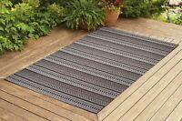 Benissimo Indoor / Outdoor Sisal Area Rug for Garage, Garden Kitchen | Brown