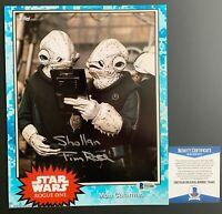 Tim Rose Autographed Star Wars Rogue One Shollan 8x10 Photo Signed Beckett COA