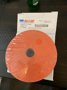 Norton 69957398007 5x7/8 in. Blaze Coated Fiber Discs 50 Grit 25 pack
