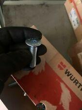 Vite a Testa Svasata Brugola Würth M12x50 Din 7991 8.8 Acciaio Blu A2K 100 St