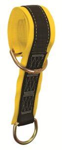 Falltech 7372 I-Beam Safety Web Anchor Sling 14',Pass-Thru w/2 D-Rings, 425 lbs