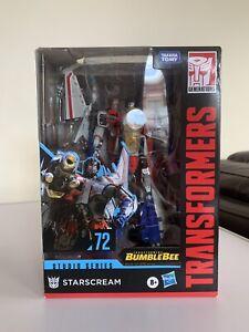 Transformers Studio Series 72 Starscream MISB