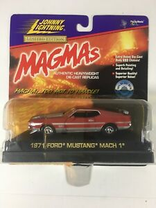 Johnny Lightning 1:43 Limited Edition MAGMAS 1971 Ford Mustang March 1 Car.