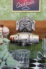 Pottery Barn St. Bernard Cocktail Shaker – Nib - Tribute To This Hero!