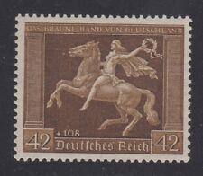 GERMANY STAMP #B119 —  BROWN RIBBON  -- 1938  -- MINT