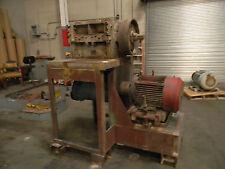 Cumberland Grinder / Granulator Model 24 12x24 75Hp Mtr 3 Blade Open Rotor