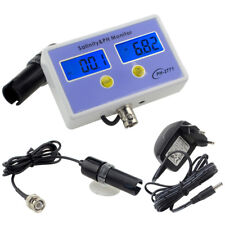 Digital Salinity&PH Meter Salinity&PH Monitor Tester for Aquarium Free Shipping