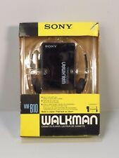 Vintage Sony Walkman WM-B10 Looks Unused in Box with Headphones Cassette Player