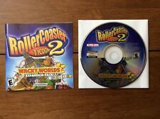 RollerCoaster Tycoon 2 Wacky Worlds PC Perfect With Booklet