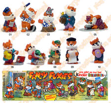 SORPRESINE KINDER GERMANIA 1998 Fancy Fuxies serie completa + cartina