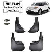 Molded Mudguards For Ford Explorer 2011-2019 Mud Flaps Splash Guards Mudflaps