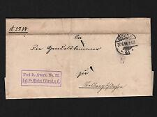 OPC 1894 Diestpost Berlin to STolberg Prime Minister Official W/ Seal