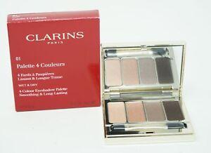 Clarins Palette 4 Couleurs Lidschatten 01 Nude 6,9g
