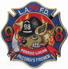 LAFD Station 98 Perros Locos  Fire Patch