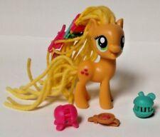 "My Little Pony G4 Apple Jack Rare Hair Dreds HTF 3 "" inch Horse Hasbro MLP 62351"