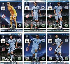 SAMIR NASRI, MANCHESTER CITY, PANINI ADRENALYN XL, 2014-15 CHAMPIONS LEAGUE CARD