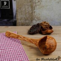 Schöpfkelle Schöpflöffel Olivenholz Kelle Suppenkelle Löffel Holz 30 cm