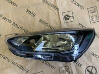 Ford Focus MK4 Halogen LED DRL N/S Headlight 2018 - ON Genuine JX7B13W030DE