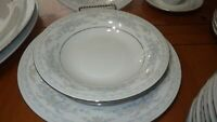 Large Lot China Dinnerware Rosepoint by Fairfield service for 12 +/- EUC 67piece