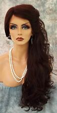 LACE FRONT LACE PIN W/PART CURLY LAYERED #4 GORGEOUS SEXY NEW  US SELLER 1003