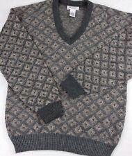 New listing Vintage Munsingwear Lifestyle Knitted V-Neck Sweater Men's Size Medium Gray