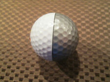 "PING GOLF BALL-SILVER/WHITE PING EYE2 LETTER ""B"".....LOGO.....7.5/10...."