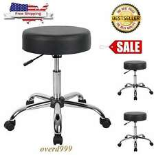 Chair Dentist Medical Adjustable Seat Stool Doctor Office Lab Exam Wheel Rolling