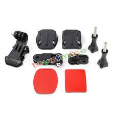 Helmet Front Adhesive Mount Bracket J-Hook Buckle for GoPro HD Hero 4 3 2 Camera