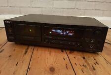 Sony TC-K520 moteur 3 Stéréo cassette/Cassette deck HX PRO. Nouvelles Ceintures Ajustée.