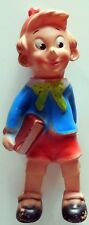 VINTAGE FIGURE PINOCCHIO RUBBER TOYS 28 CM PUPAZZO GOMMA 60s SQUEAKY MADE ITALY