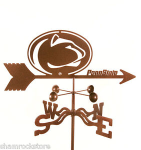 Penn State University Weathervane - PSU - Nittany Lions - with Choice of Mount